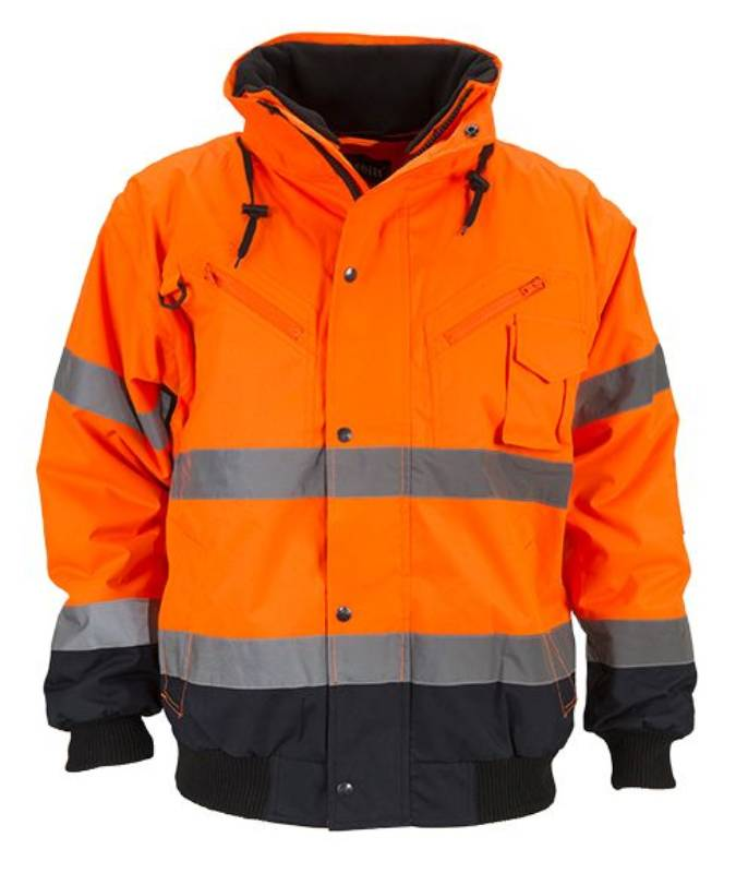product photo Artelli BOMBER JACKET HI-VIZ 3-IN-1 1024217 oranje-orange
