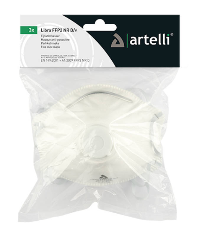 product photo Artelli LIBRA FFP2 NR D/V