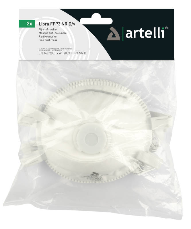 product photo Artelli LIBRA FFP3 NR D/V