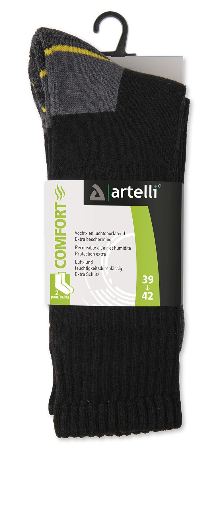 product photo Artelli COMFORT 1033255 zwart-noir