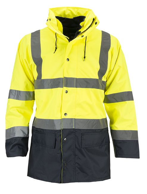 product photo Artelli PARKA ALL SEASON HI-VIZ 5-IN-1 1024216 geel-jaune