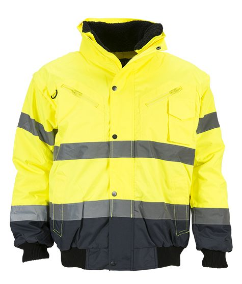 product photo Artelli BOMBER JACKET HI-VIZ 3-IN-1 1024217 geel-jaune