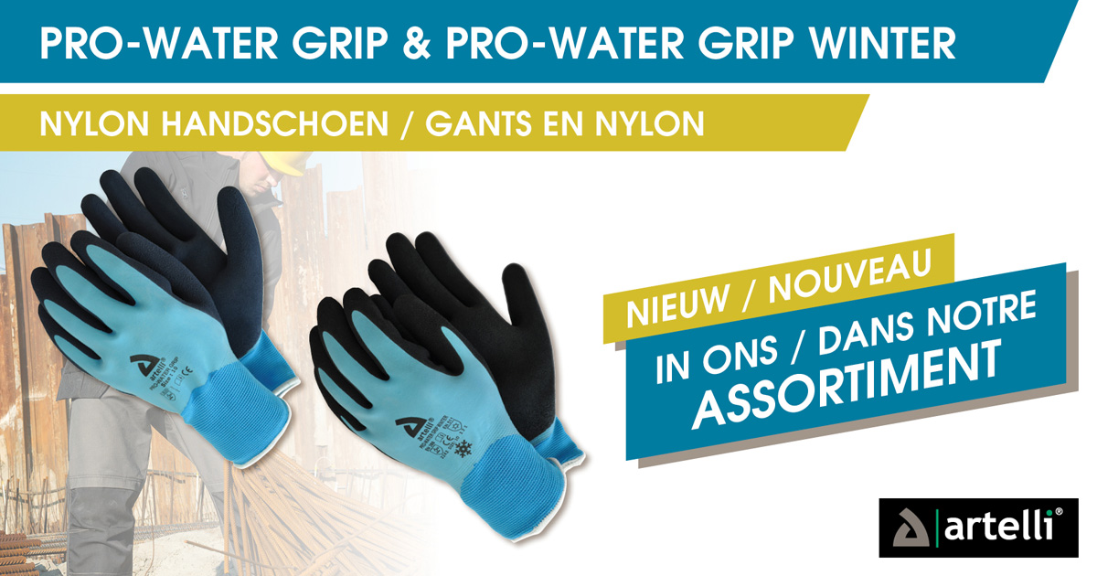 Artelli Pro-Water Grip & Pro-Water Grip Winter banner