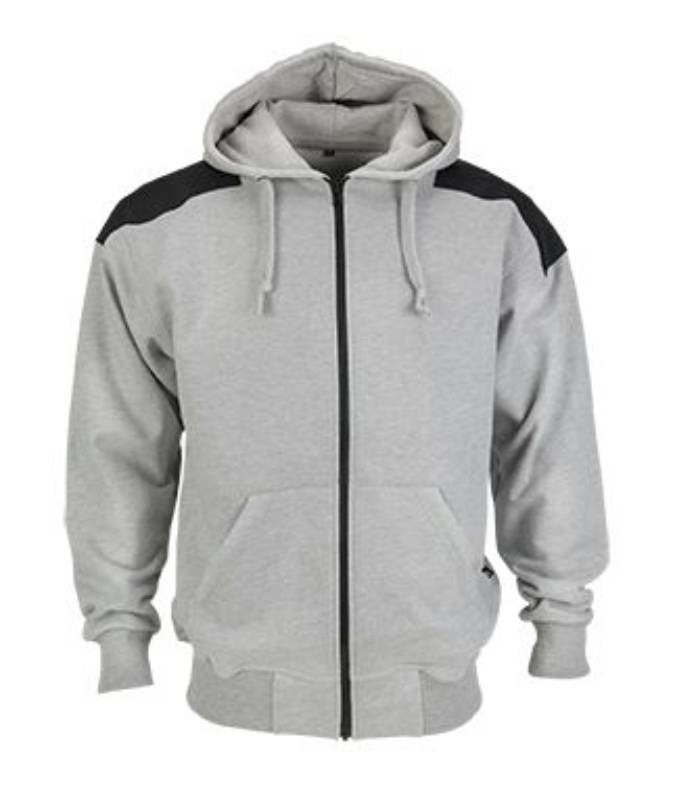 product photo Artelli PRO-HOODY ZIPPER grijs-gris